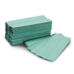 C-Fold Luxury Hand Towel 1Ply Green
