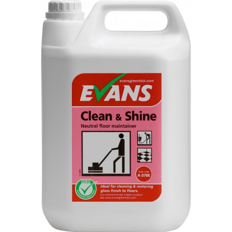 Evans Clean & Shine 1x5ltr