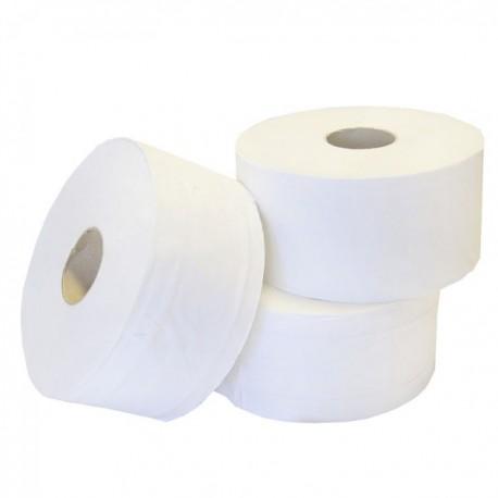 "56340 - Mini Jumbo Toilet Roll 2Ply White 3"" Core 1x12 150m"