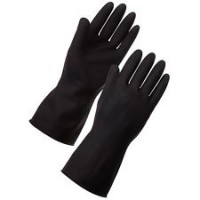 Long Heavy Duty Rubber Gauntlets