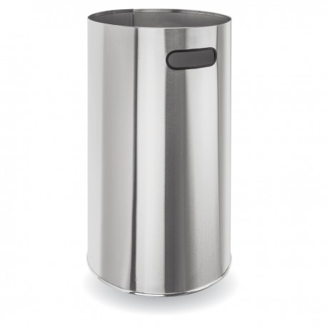 BC140 Dolphin Stainless Steel Round Bin with Castors
