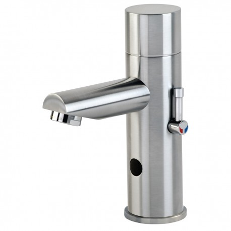 DB150 Dolphin Blue Electronic Infrared Tap with temperature adjustment lever