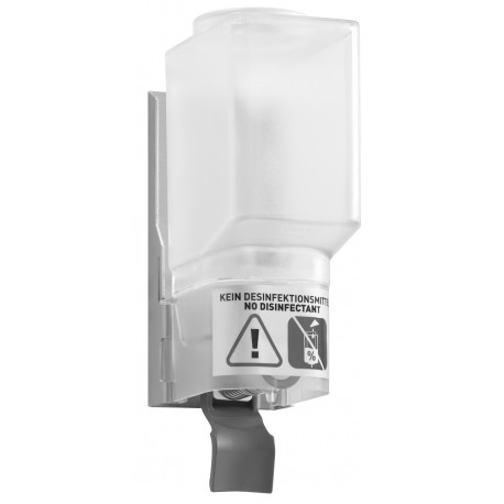 DP1502 Dolphin Prestige Refillable Soap Dispenser for Mounting Behind Hinged Mirror