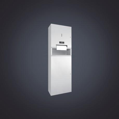 DP4110 Dolphin Prestige Combination Waste Bin & Touch Free Paper Towel Dispenser