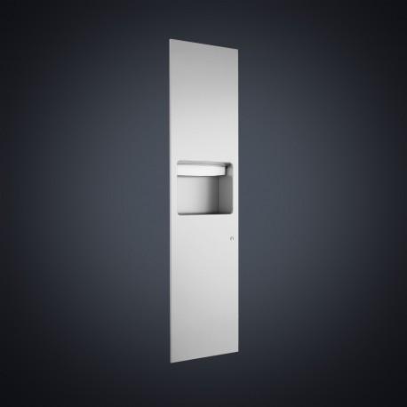 DP4316 Dolphin Prestige Recessed Paper Towel Dispenser and Waste Bin