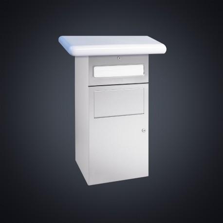 DP4601 Dolphin Prestige Towel Dispenser and Waste Bin Combination