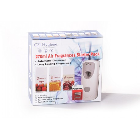 270ml Air Fragrances Starter Pack
