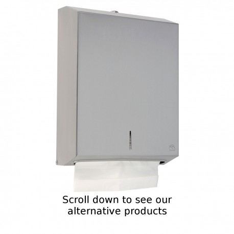 Stainless Steel Maxi Paper Towel Dispenser
