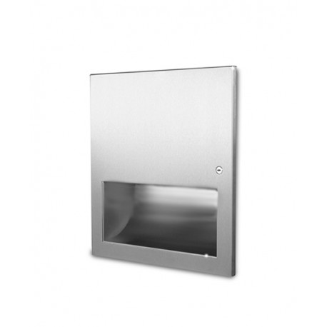 Recessed High Speed Hand Dryer - 1kW Stainless Steel