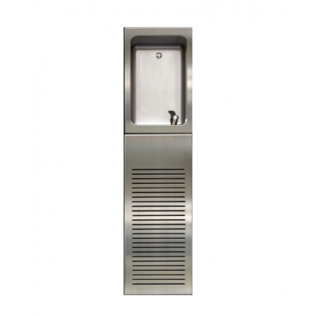 Drinking Water Fountain with Bubbler and Chiller Housing