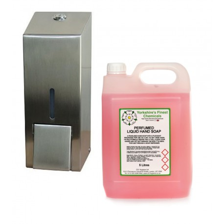 C21 800ml Refillable liquid Soap Dispenser + 5L soap bundle