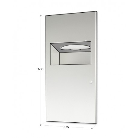 2 in 1 Combination Unit - Stainless Steel