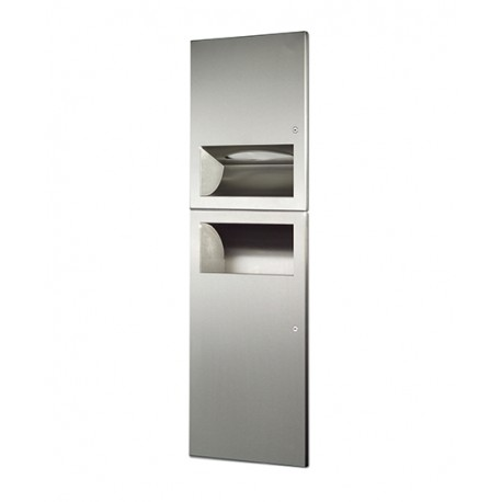 2 in 1 Modular Combination Unit - Stainless Steel