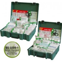 Economy Workplace First Aid Kit BS 8599 Compliant Multiple Packs