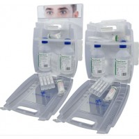 Evolution Plus 2x500ml Eyewash Kit (with 8 Eyewash Pods)