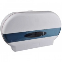 Twin Mini Jumbo or Jumbo Toilet Roll Dispenser