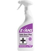 Evans Vanodine Safe Zone Plus Virucidal Cleaner Disinfectant