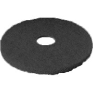 "Black Floor Pad 17"" - Single"